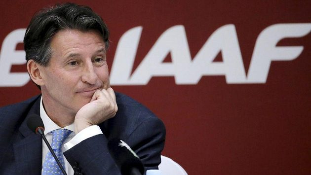 Šéf světové atletiky Sebastien Coe.