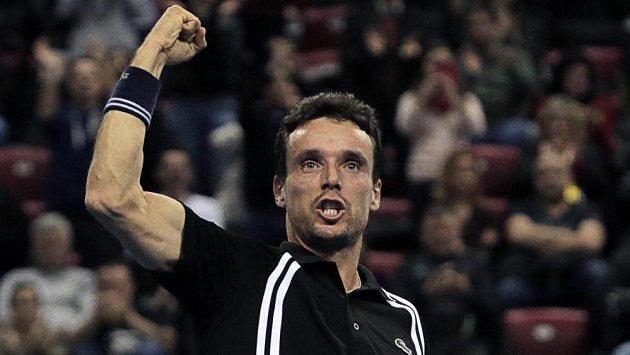 Španělský tenista Roberto Bautista Agut, přemožitel Jiřího Veselého v Rotterdamu.