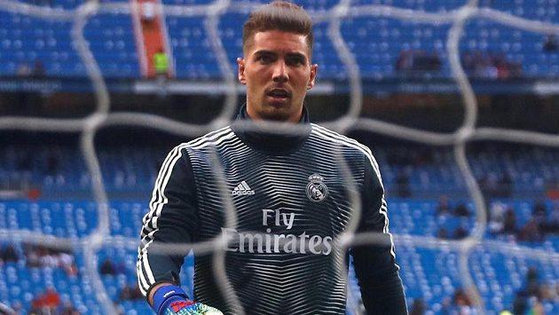 Luca Zidane v brance Realu Madrid. Domácí ligový debut hned oslavil výhrou.