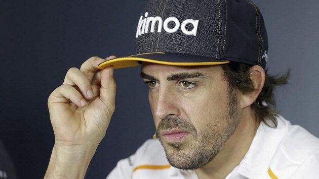 Fernando Alonso z McLarenu