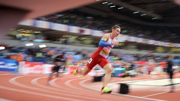 Pavel Maslák v semifinále čtvrtky na HME v Bělehradě,