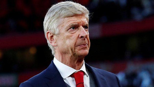 Manažer Arsenalu Arséne Wenger.