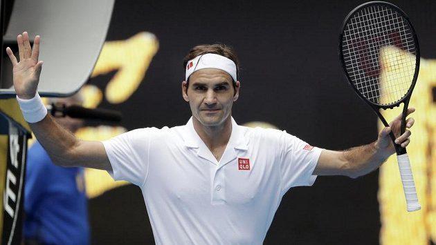 Obhájce titulu Roger Federer na Australian Open zatím neztratil ani set.