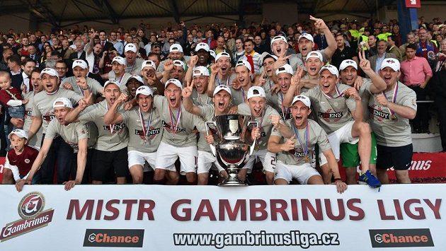 Fotbalisté Sparty byli v roce 2014 mistry Gambrinus ligy. Pivovar návrat neplánuje...