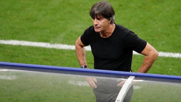 Německý reprezentační trenér Joachim Löw po porážce ve Francii.
