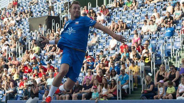 Filip Jícha odehrál poločas v dresu výběru světa.
