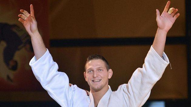 Judistou roku 2013 byl vyhlášen Lukáš Krpálek (na snímku).