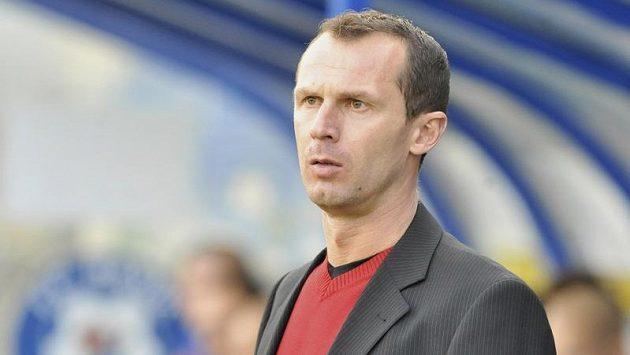 Radek Látal na lavičce Baníku Ostrava.