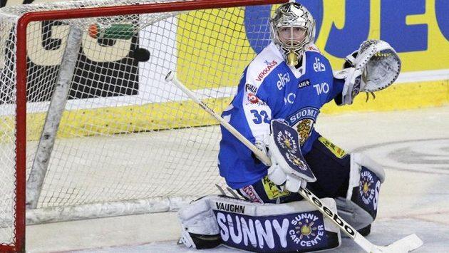 Oporou Finů bude brankář Kari Lehtonen.