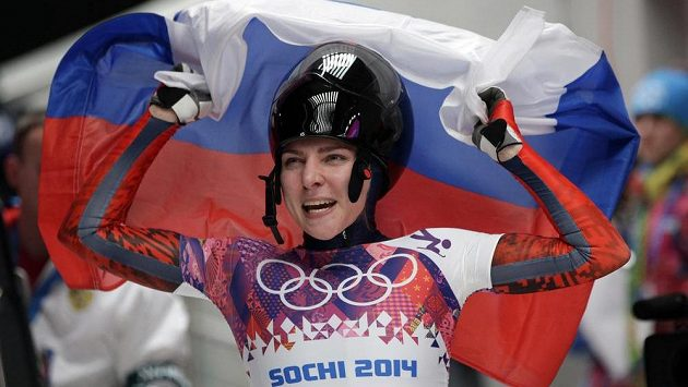Ruská skeletonistka Jelena Nikitinová, jedna z hříšnic v dopingové kauze.
