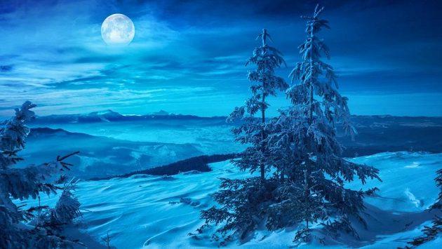 Temná zimní noc mohla být pro Kanaďana tou poslední. (ilustrační foto)