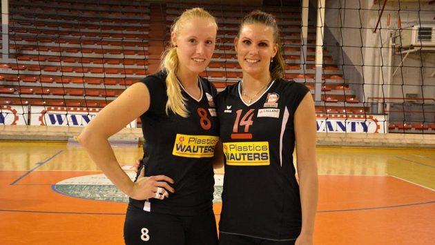 Barbora Purchartová (vlevo) a Martina Noseková.
