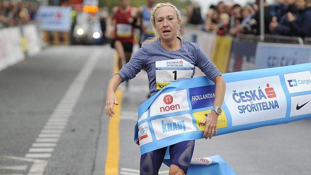 Vítězka ženské kategorie Eva Vrabcová-Nývltová.