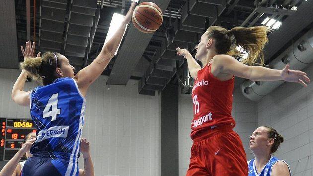 České basketbalistky v přípravě na Slovensku vyhrály (ilustrační foto)