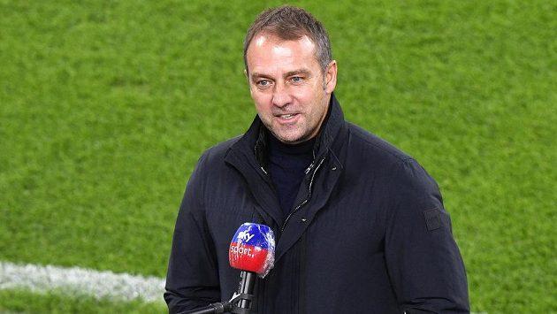 Trenér fotbalistů Bayernu Mnichov Hans-Dieter Flick