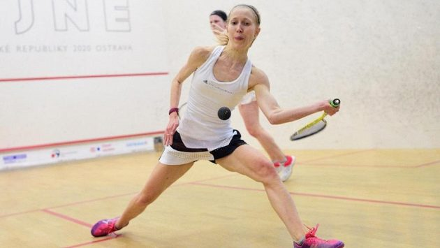 Squashistka Anna Serme si zahrála na prestižním turnaji v Egyptě. (ilustrační foto)