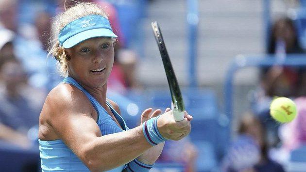 Přemožitelka Petry Kvitové, nizozemská tenistka Kiki Bertensová, vyhrála turnaj v Cincinnati.