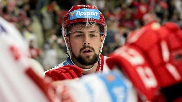 Tastislav Špirko z Třince autor druhého gólu domácích proti Spartě.