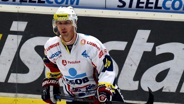 Libor Pivko strávil poslední extraligovou sezónu v pardubickém dresu