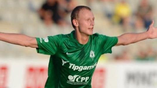 Jablonecký talent Ondřej Mihálik.