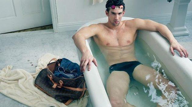 Michael Phelps se stal tváří značky Louis Vuitton.