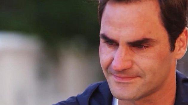 Rogera Federera přemohly emoce