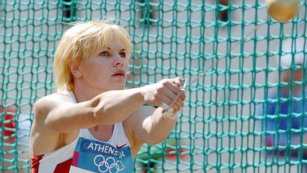 Ruská kladivářka Olga Kuzenkovová sbyla také zapletena do ruské dopingové aféry.