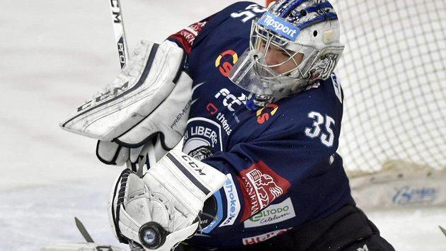 Liberecký brankář Roman Will zůstal ve Zlíně nepřekonán.