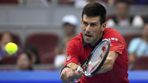 Novak Djokovič na China Open
