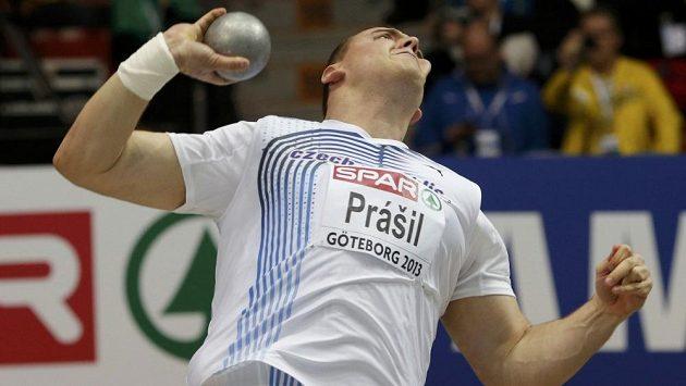 Český koulař Ladislav Prášil vybojoval na halovém mistrovství Evropy v atletice bronz.