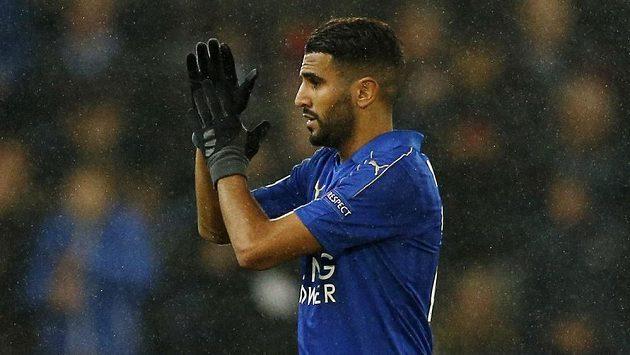 Záložník Rijád Mahriz zařídil výhru Leicesteru nad Kodaní.