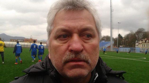 Trenér fotbalistů Ústí nad Labem Petr Němec