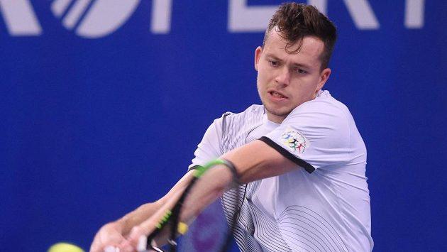 Český tenista Adam Pavlásek.
