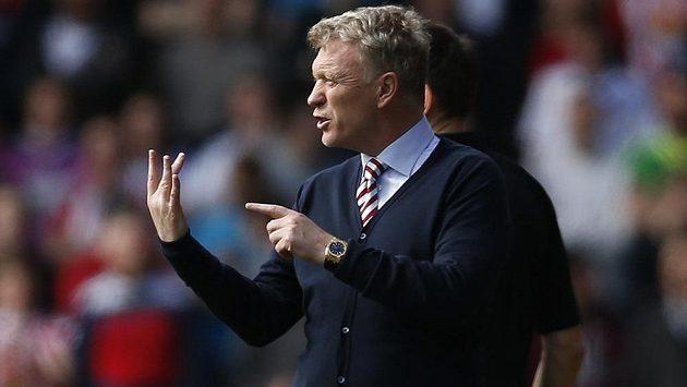 Trenér Sunderlandu David Moyes.