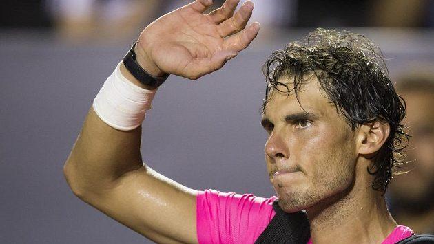 Rafael Nadal končí na turnaji v Rio de Janeiro po semifinálové prohře s Fabiem Fogninim.