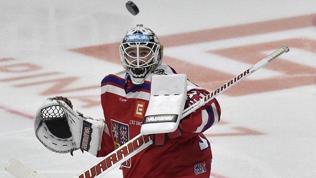 V brance české reprezentace dnes proti Lotyšům nastoupí Pavel Francouz.