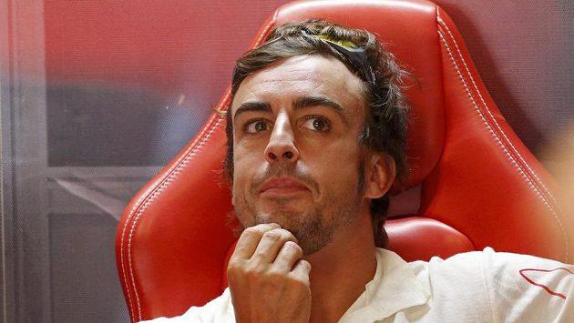 Pilot F1 Alonso.