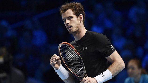 Brit Andy Murray odletí společně s týmem do Belgie s denním zpožděním.
