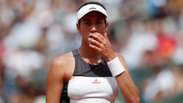 Obhájkyně titulu Garbiňe Muguruzaová skončila letos na French Open v osmifinále.