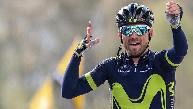 Španělský cyklista Alejandro Valverde vyhrál počtvrté v řadě závod Valonský šíp.