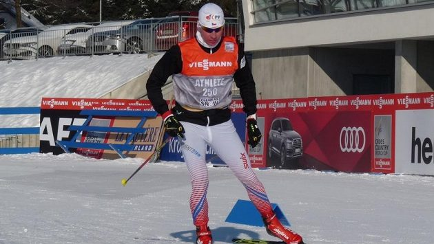 Lukáš Bauer už si vyzkoušel tratě v Novém Městě na Moravě.