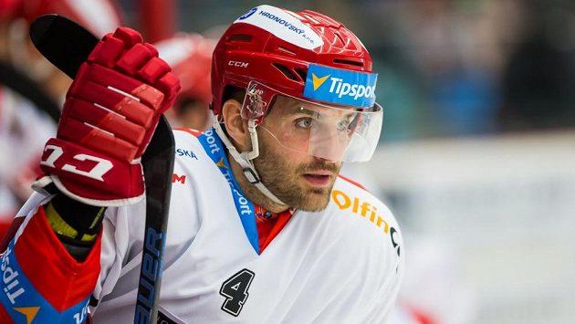 Hokejový obránce Tomáš Voráček.