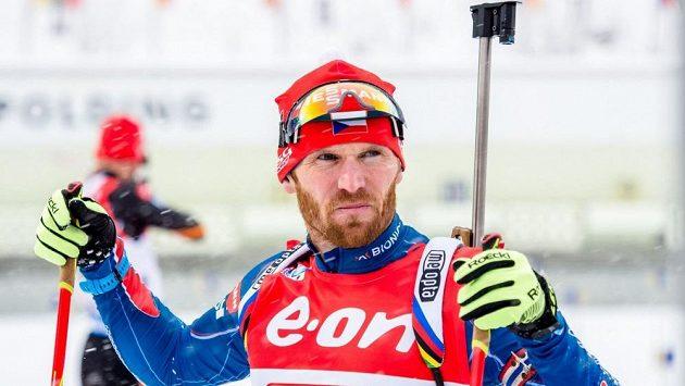 Michal Šlesingr obsadil ve sprintu v Canmore čtrnácté místo.