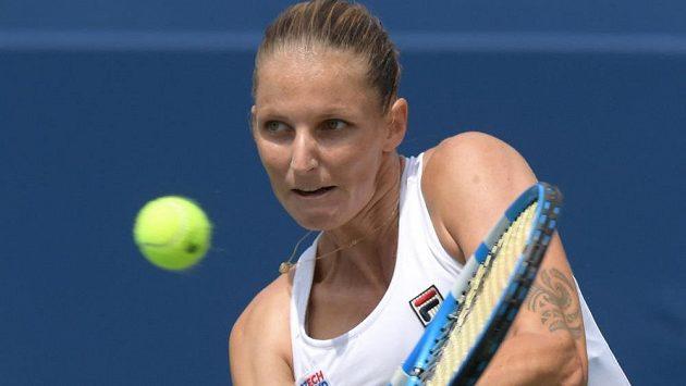 Karolína Plíšková na turnaji v Torontu.