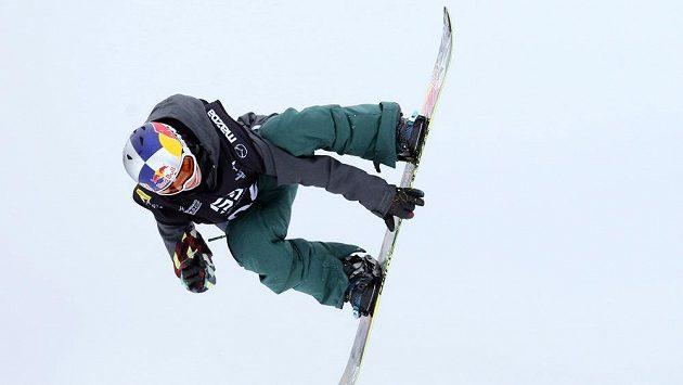 Šárka Pančochová ve slopestylu.