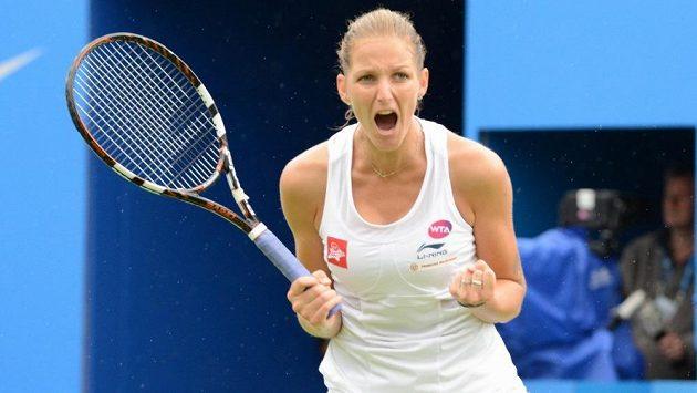 Karolína Plíšková má důvod k radosti - poprvé v kariéře bude v elitní desítce tenisového žebříčku WTA.