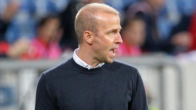 Trenér fotbalistů Hoffenheimu Sebastian Hoeness.