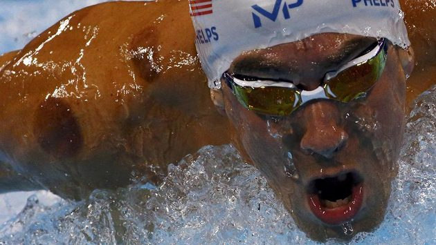 Michael Phelps vysvětlil podivné kruhy na těle.