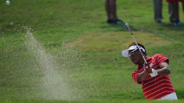 Thajský golfista Thongchai Jaidee.