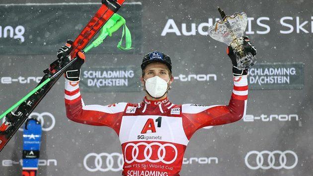 Rakušan Marco Schwarz vyhrál slalom ve Schladmingu.